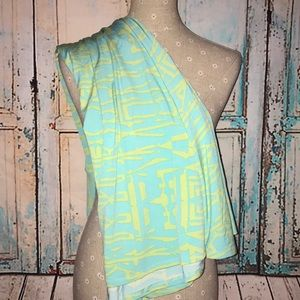 LULAROE~Printed MAXI Fold-Waist A-line Skirt~XS